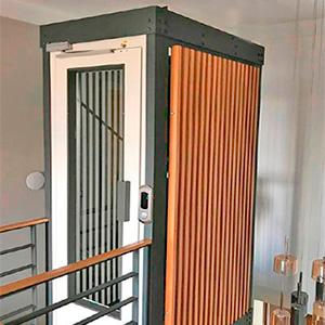 ev tipi villa asansör sistemleri